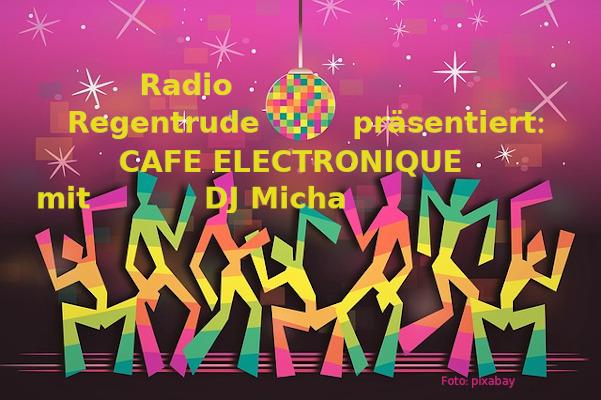 Café électronique mit DJ Micha