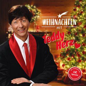 Albumcover Weihnachten mit Teddy Herz