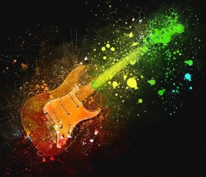 electric guitar pixabay